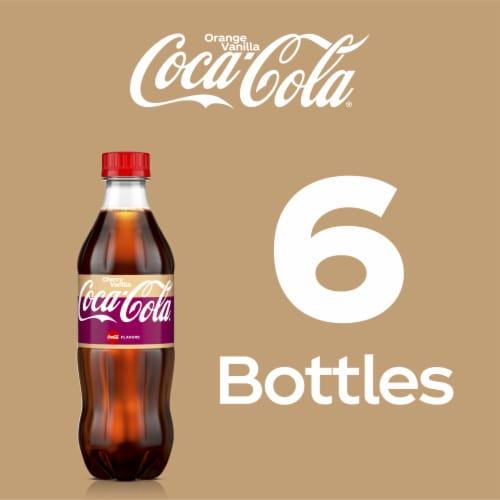 Coca-Cola Cherry Vanilla Soda Perspective: right