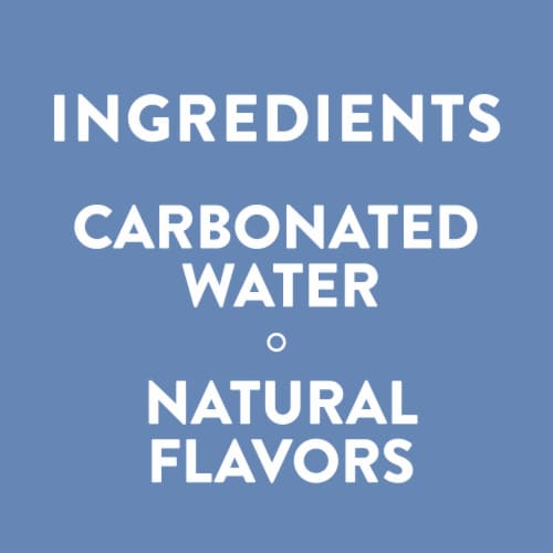 AHA Blueberry + Pomegranate Sparkling Water Perspective: right