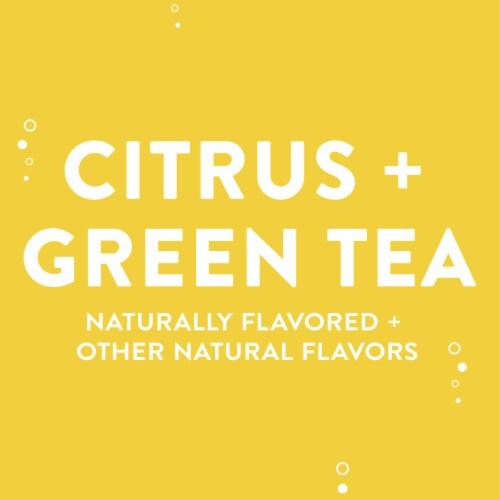 AHA Mango Black Tea Sparkling Water Perspective: right