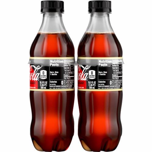 Coca-Cola Zero Sugar Vanilla Cola Soda Perspective: right