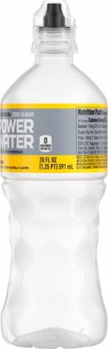 Powerade Zero Sugar Power Water Lemon Perspective: right