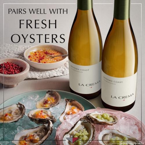 La Crema Sonoma Coast Chardonnay White Wine Perspective: right