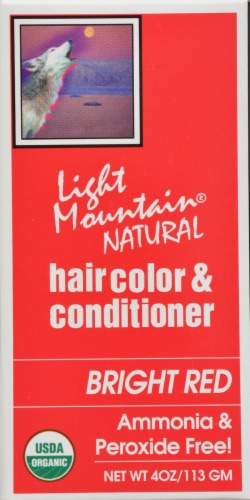 Light Mountain Natural Hair Color Cond Bright Red Perspective: right