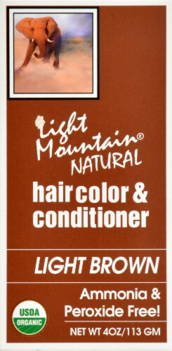 Light Mountain Natural Hair Color Conditioner Light Brown Perspective: right