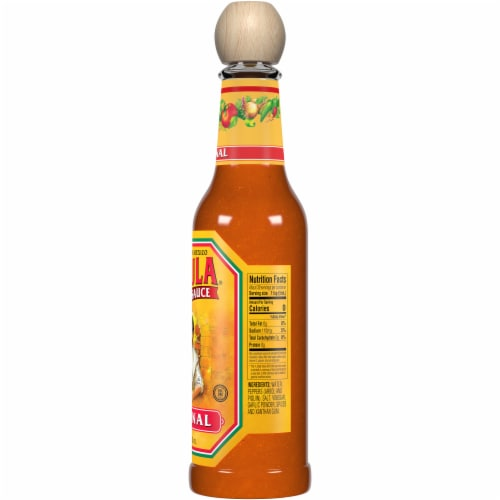 Cholula Hot Sauce Perspective: right