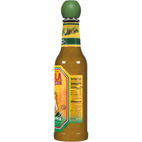 Cholula Green Pepper Hot Sauce Perspective: right