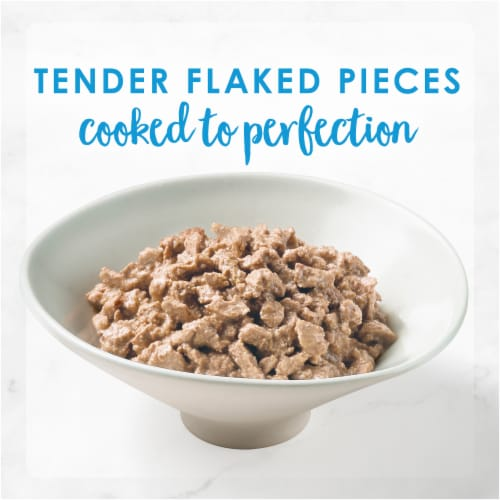 Fancy Feast Flaked Tuna Feast Wet Cat Food Perspective: right