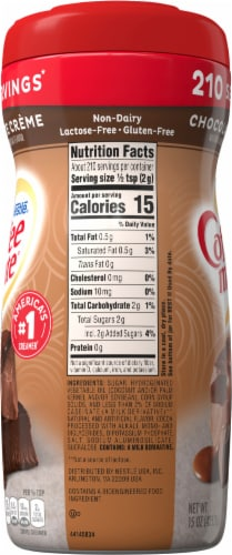 Nestle Coffee mate Chocolate Creme Powder Coffee Creamer Perspective: right