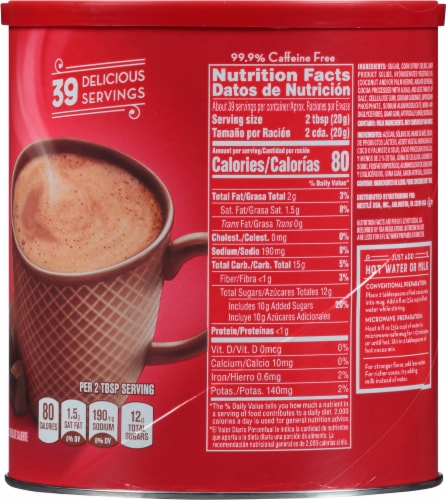 Nestlé Rich Milk Chocolate Hot Cocoa Mix Perspective: right