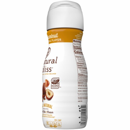 Coffee-mate Natural Bliss Hazelnut All-Natural Coffee Creamer Perspective: right