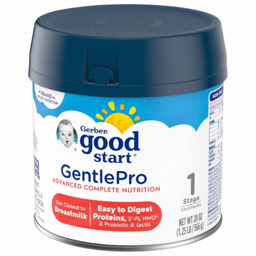 Gerber Good Start Everyday Probiotics Milk Based Infant Formula Perspective: right