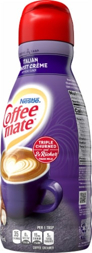 Nestle Coffee mate Italian Sweet Creme Liquid Coffee Creamer Perspective: right
