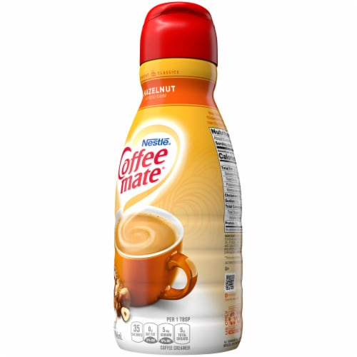 Nestle Coffee mate Hazelnut Liquid Coffee Creamer Perspective: right