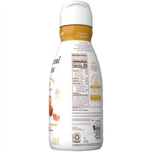 Coffee-mate Natural Bliss Hazelnut Liquid Coffee Creamer Perspective: right