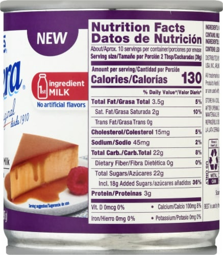 Nestle La Lechera Lactose Free Sweetened Condensed Milk Perspective: right