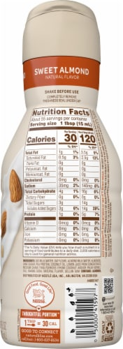 Coffee-mate Natural Bliss Protein Liquid Coffee Creamer Perspective: right