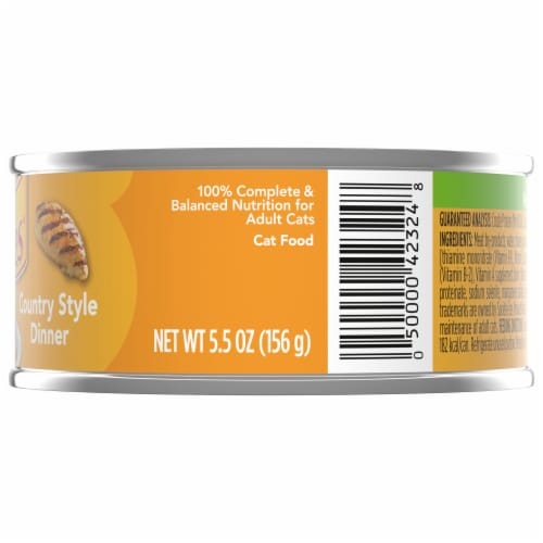 Friskies Pate Country Style Dinner Adult Wet Cat Food Perspective: right