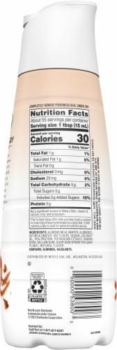 Starbucks Almondmilk & Oatmilk Hazelnut Latte Non Dairy Coffee Creamer Perspective: right