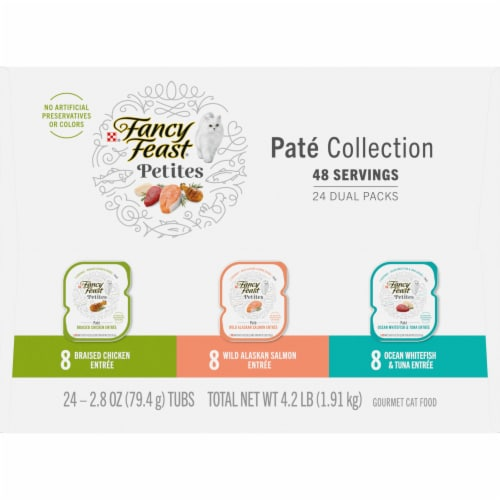 Fancy Feast® Petites Pate Collection Wet Cat Food Perspective: right