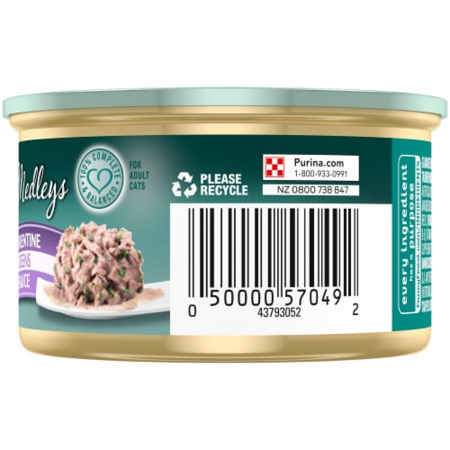 Purina Fancy Feast Medleys Wild Salmon Florentine Wet Cat Food Perspective: right