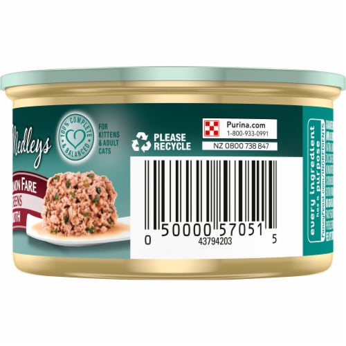 Fancy Feast Medleys Shredded Wild Salmon Fare Wet Cat Food Perspective: right