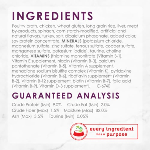 Purina Fancy Feast Medleys White Meat Chicken Tuscany Wet Cat Food Perspective: right