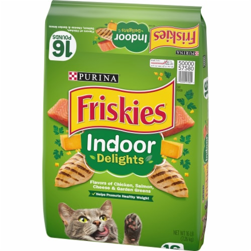 Purina Friskies Indoor Delights Dry Cat Food Perspective: right