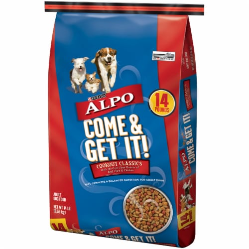 ALPO Come & Get It! Cookout Classics Dry Dog Food Perspective: right