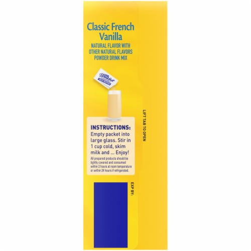 Carnation Breakfast Essentials High Protein Classic French Vanilla Nutritional Drink Mix Packets Perspective: right