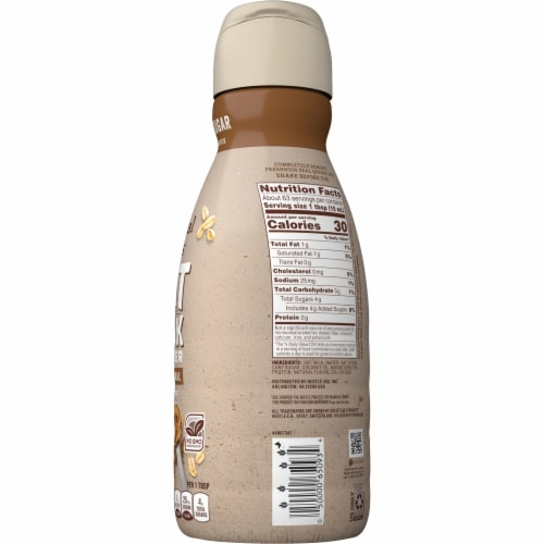 Coffee-mate Natural Bliss Oat Milk Brown Sugar Coffee Creamer Perspective: right