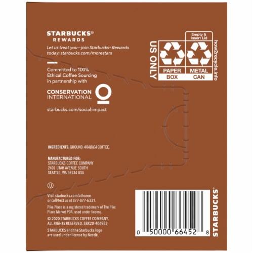 Starbucks® Pike Place® Medium Roast Fresh Brew Ground Coffee Perspective: right