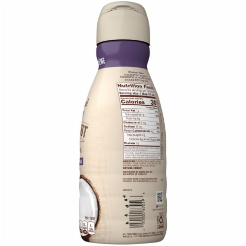 Coffee-mate Natural Bliss Coconut Milk Liquid Coffee Creamer Perspective: right