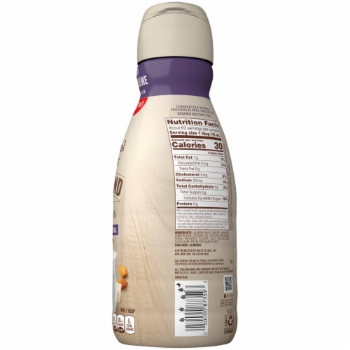 Coffee-mate Natural Bliss Almond Sweet Creme Coffee Creamer Perspective: right