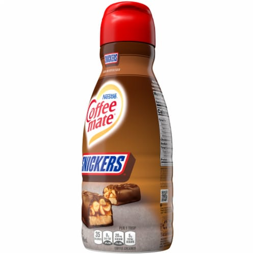 Nestle Coffee mate Snickers Liquid Coffee Creamer Perspective: right