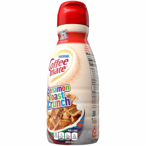 Nestle Coffee mate Cinnamon Toast Crunch Liquid Coffee Creamer Perspective: right