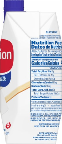 Carnation Evaporated Milk Perspective: right