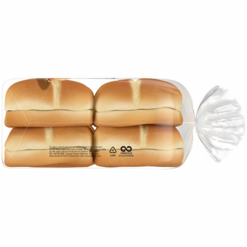 Ball Park Tailgaters Gourmet Hamburger Buns Perspective: right