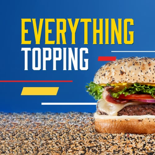 Ball Park® Everything Hamburger Buns Perspective: right