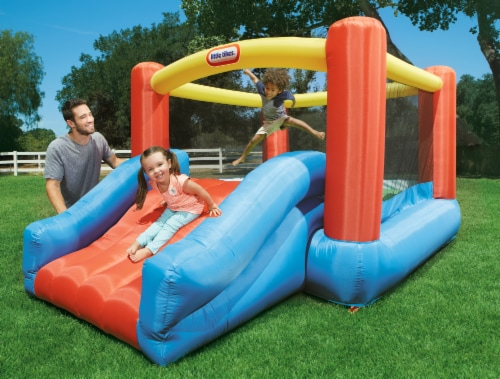 Little Tikes Jr. Jump 'n Slide Bouncer Perspective: right