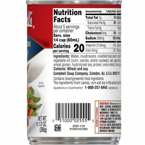 Campbell's Mushroom Gravy Perspective: right