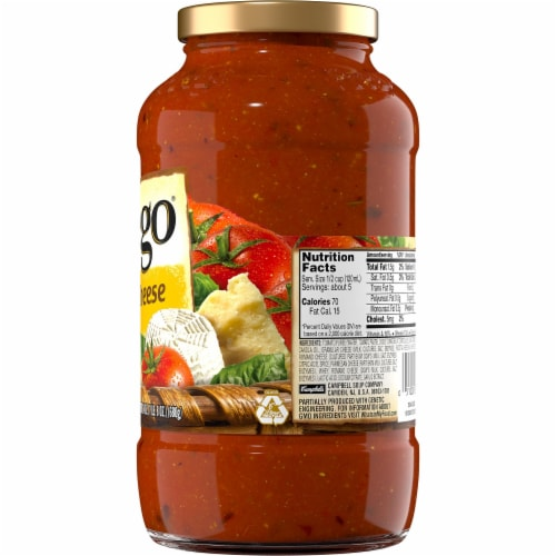 Prego Three Cheese Italian Sauce Perspective: right