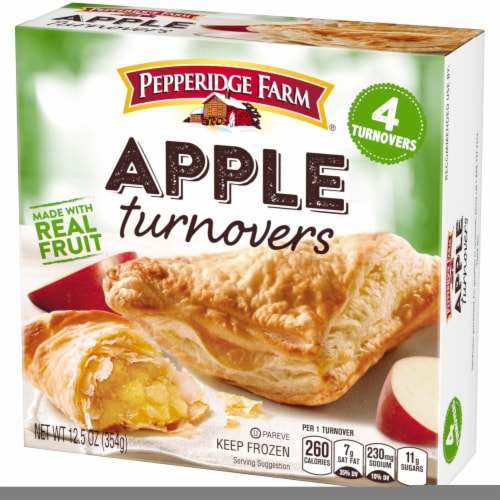 Pepperidge Farm Apple Turnovers 4 Count Perspective: right