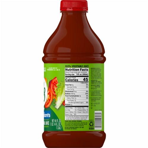 V8 Essential Antioxidants Original 100% Vegetable Juice Perspective: right
