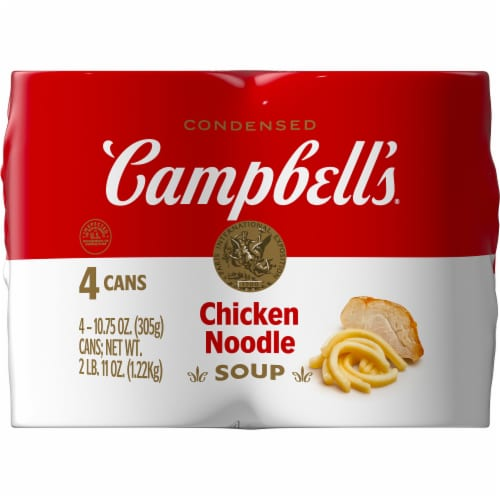 Campbell's Chicken Noodle Condensed Soup Perspective: right