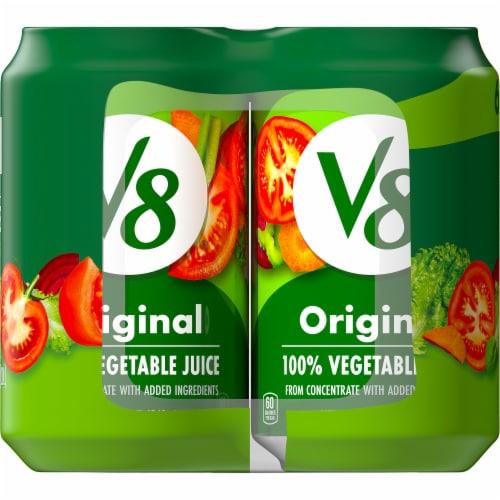 V8 Original 100% Vegetable Juice Perspective: right