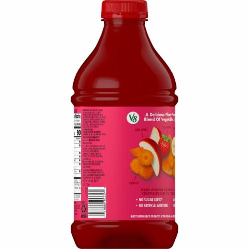 V8 V-Fusion Strawberry Banana Juice Perspective: right