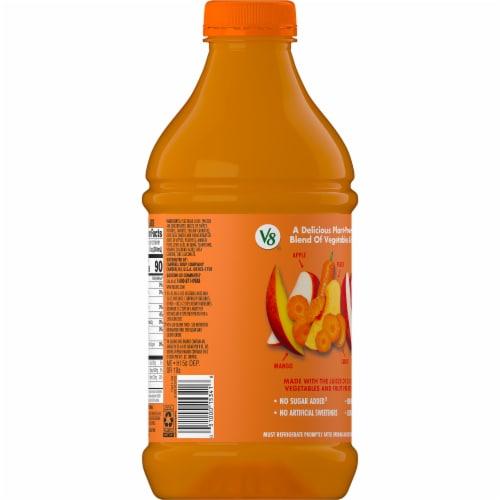V8 V-Fusion Peach Mango Juice Perspective: right