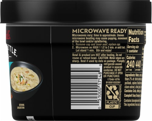 Campbell's® Slow Kettle Style Kickin' Crab & Corn Chowder Perspective: right