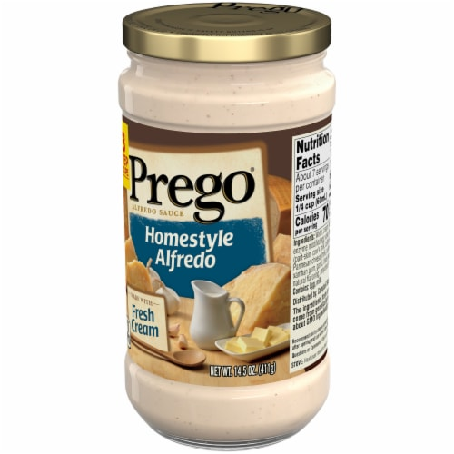 Prego Homestyle Alfredo Fresh Cream Sauce Perspective: right