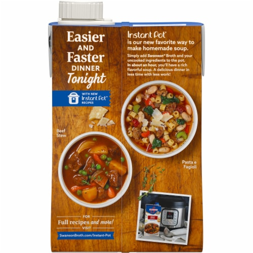 Swanson Beef Broth Perspective: right